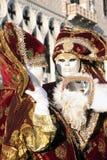 Pares de máscara de Veneza imagem de stock