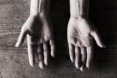 Pares de manos Imagen de archivo libre de regalías