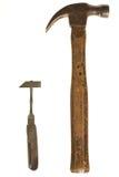 Pares de martillos Fotos de archivo libres de regalías