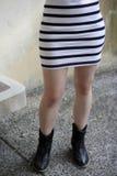 Pares de pés Foto de Stock Royalty Free