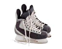 Pares de patins do hóquei imagem de stock