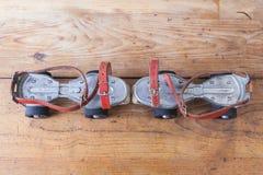 Pares de patins velhos Imagens de Stock Royalty Free