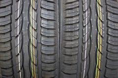 Pares de pneus de carro novos do verão Foto de Stock