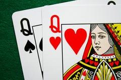 Pares de rainhas Imagens de Stock