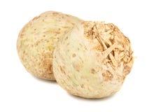 Pares de raiz de aipo fresca Fotografia de Stock