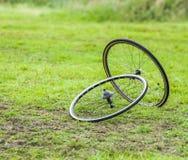 Pares de rodas do ciclismo Imagem de Stock Royalty Free