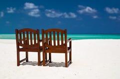 Pares de sillas Foto de archivo