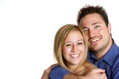 Pares de sorriso Imagens de Stock