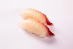 Pares de sushi del Tai (pargo) Foto de archivo