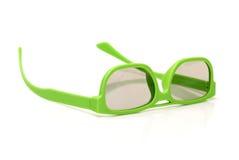 Pares de vidros polarizados 3d Fotos de Stock Royalty Free