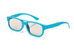 Pares de vidros polarizados 3d Imagens de Stock Royalty Free