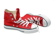Pares de zapatillas de deporte foto de archivo libre de regalías
