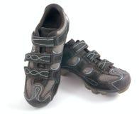 Pares de zapatos del deporte en blanco fotografía de archivo