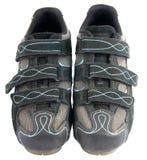 Pares de zapatos del deporte en blanco foto de archivo
