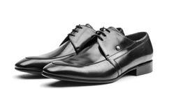 Pares de zapatos masculinos Fotografía de archivo libre de regalías