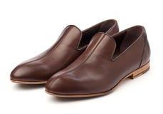 Pares de zapatos masculinos marrones Fotografía de archivo libre de regalías