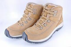 Pares de zapatos que recorren Fotografía de archivo libre de regalías