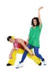 Pares del baile Fotografía de archivo libre de regalías