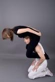 Pares del baile fotografía de archivo