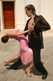Pares del baile Imagenes de archivo