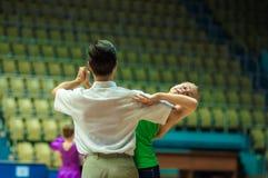 Pares del baile? aislados en blanco Fotos de archivo