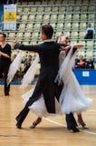Pares del baile? aislados en blanco Fotografía de archivo libre de regalías