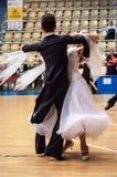 Pares del baile? aislados en blanco Fotos de archivo libres de regalías