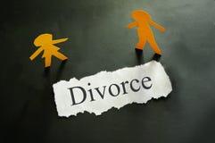 Pares del divorcio Imágenes de archivo libres de regalías