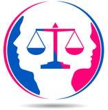 Pares del divorcio Foto de archivo libre de regalías