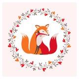 Pares del Fox Fotos de archivo
