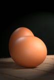 Pares del huevo fresco Foto de archivo