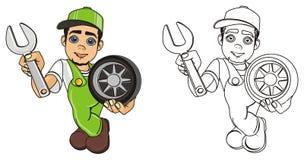 Pares del mecánico libre illustration