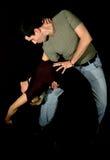 Pares del tango imagen de archivo