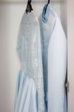Pares del vestido de boda de lujo Fotografía de archivo