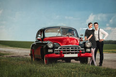 Pares del vintage Imagen de archivo