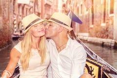 Pares delicados no amor Foto de Stock Royalty Free