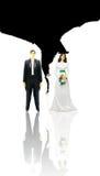 Pares divorciados foto de stock royalty free
