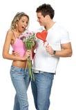 Pares do amor Foto de Stock Royalty Free