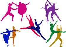 Pares do bailado Imagens de Stock Royalty Free
