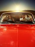 Pares do carro do vintage Fotos de Stock