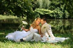 Pares do casamento foto de stock royalty free