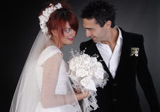 Pares do casamento Imagem de Stock