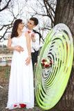 Pares do casamento Fotografia de Stock