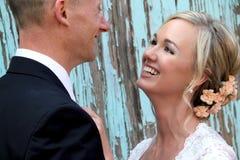 Pares do casamento Imagens de Stock