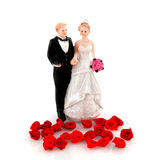 Pares do casamento Fotos de Stock Royalty Free