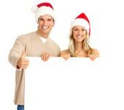 Pares do Natal imagem de stock royalty free