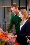 Pares do supermercado Fotografia de Stock