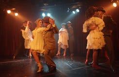Pares do tango Imagem de Stock