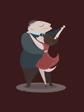 Pares do tango Fotografia de Stock Royalty Free