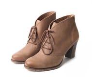 Pares elegantes de los zapatos de la mujer Fotografía de archivo libre de regalías